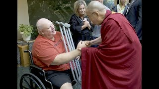 Download Dalai Lama with Tibetans and Patients at Mayo Clinic Video