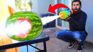 Download We Built DANGEROUS DIY Zombie Water Guns!! (APOCALYPSE SURVIVAL) Video
