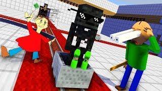 Download Monster School : BALDI'S BASICS & Epic BOTTLE FLIP CHALLENGE - Minecraft Animation Video