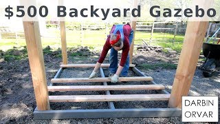 Download Backyard Gazebo for $500 w/ Limited Tools Video