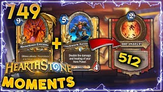 Download 512 EZ WOMBO COMBO CHICKEN DINNER!! | Hearthstone Daily Moments Ep. 749 Video