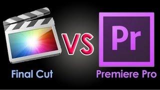 Download Premiere Pro Vs Final Cut Pro | Editores de video Adobe y Apple | Cual editor es mejor Video