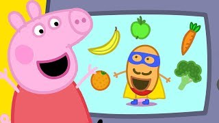 Download Peppa Pig Official Channel | Super Potato at Peppa Pig's Playgroup! Video