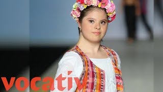 Download Designer With Down Syndrome Is First At London Fashion Week Video
