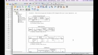 Download How to Calculate Multiple Linear Regression with SPSS Video