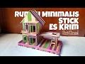 Download Cara Membuat miniatur Rumah Minimalis dari Stick Es Krim Video