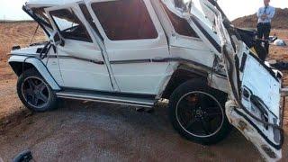 Download Mercedes-Benz Gelandewagen (G-Class) Crash | Аварии Мерседес Гелендваген (Гелик) Video