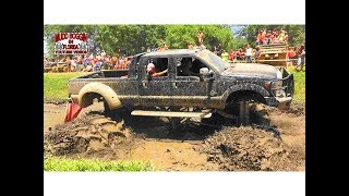 Download Monster Ford Dually Digs in Slough Challange.. Does He Make It. Video