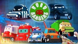 Download Road rangers | who're you going to call? | super hero songs for children Video