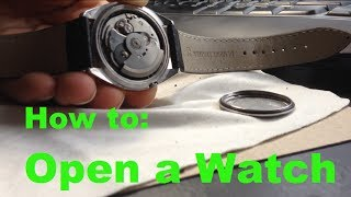 Download How to Open a Watch Back Without a Wrench Video