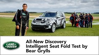 Download All-New Land Rover Discovery Intelligent Seat Fold Technology Tested by Bear Grylls Video