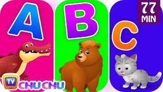 Download ChuChu TV Alphabet Animals Song with Animal Names & Animal Sounds | Nursery Rhymes for Kids Video