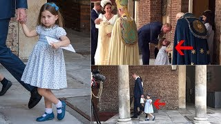 Download ADORABLE Charlotte steals the show AGAIN with her royal wave & a very polite handshake Video