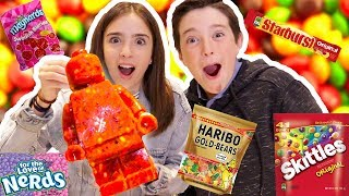 Download MIXING EVERY CANDY INTO ONE GIANT LEGO!! Video