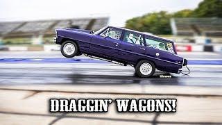 Download DRAGGIN' WAGONS! STATION WAGON MONTAGE! BYRON DRAGWAY! RT66! CORDOVA RACEWAY! Video