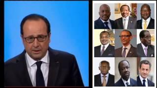 Download INFO FLASH - François Hollande renonce au 2e mandat. Claque pour les dirigeants africains Video