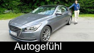 Download New Hyundai Genesis luxury sedan FULL REVIEW test driven 2016 - Autogefühl Video
