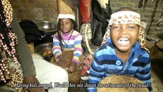 Download Khokhovula the traditional healer and Children over money ritual Video