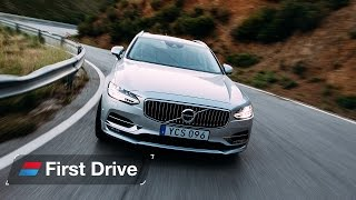 Download Volvo V90 first drive review Video