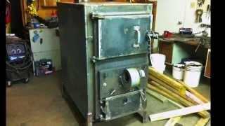 Download Home Built Wood Gasification Boiler Project Video