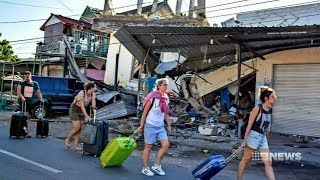 Download Lombok Earthquake | 9 News Perth Video