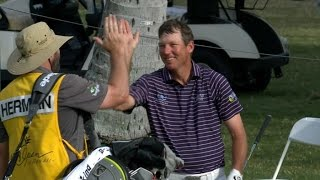 Download Jim Herman's walk off eagle at Sony Open Video