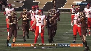 Download Highlights | Syracuse vs. Western Michigan Video
