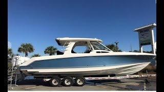 Download 2019 Boston Whaler 350 Realm Boat For Sale at MarineMax Charleston Video
