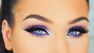 Download Simple Bright Purple Smokey Eyes | Spring/Summer Makeup Tutorial Video