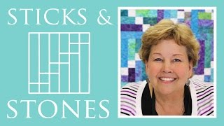 Download The Sticks and Stones Quilt: Easy Quilting Tutorial with Jenny Doan of Missouri Star Quilt Co Video