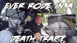 Download EVER RODE IN A DEATH TRAP? RIDE ALONG WITH STREET OUTLAWS CHUCK! Video