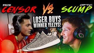 Download FaZe Censor vs OpTic Scump - 1v1 (LOSER BUYS WINNER YEEZYS!) Video