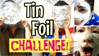 Download 💄 TIN FOIL makeup CHALLENGE! Reto maquillaje papel aluminio + mascarilla Video