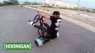 Download [HOONIGAN] Unprofessionals EP9: Crashing drift trikes and un-bending the RX7 Video