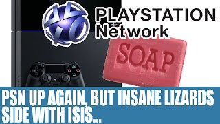 Download Playstation Network DDoS Attack - PSN Back Up But Not Before LizardSquad Claim Alliance With ISIS ?! Video