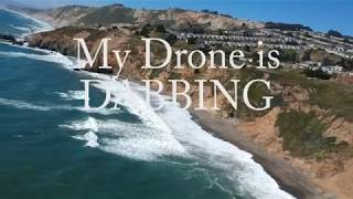 Download Dji Spark max distance flight test & footage(upscale to 4K) & flight time, ALSO,,, GIMBAL GLITCH Video