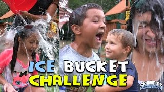 Download SKYLANDER BOY and GIRL take the ICE BUCKET CHALLENGE! w/ Lightcore Chase & Mom (Nominates...) ALS Video