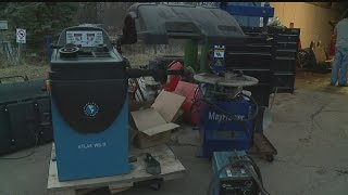 Download Liberty police find stolen equipment during 2 afternoon raids Video