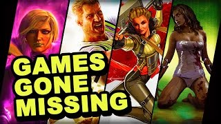 Download 7 Huge Games That Have Gone Missing Video