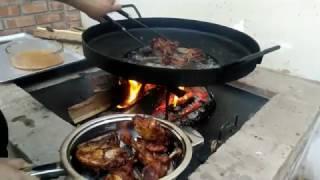 Download Pollo frito marinado con limòn, ajo y chile de àrbol Video