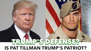 Download Trump Uses Pat Tillman As A Defense To NFL Backlash Video