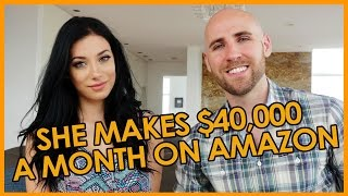 Download She Makes $40,000 Per Month on Amazon at 23 Years Old Video