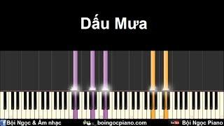 Download Dấu Mưa - Trung Quân | Piano Tutorial #29 | Bội Ngọc Piano Video