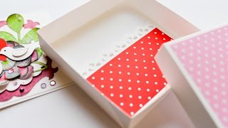 Download How to Make - Gift Box Greeting Card Money Birthday - Step by Step DIY | Pudełko Prezent Video