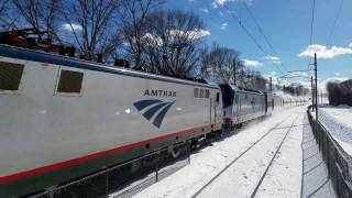 Download EXTREMELY RARE AMTRAK AND MBTA TRAINS!!! 300 Subscriber Special Video