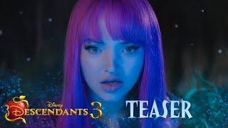 Download Descendants 3 Official Teaser 💚💜 Video