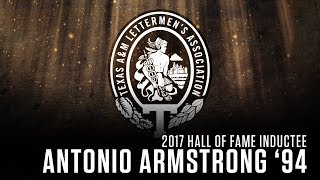 Download 2017 Texas A&M Athletics Hall of Fame | Antonio Armstrong '94 Video