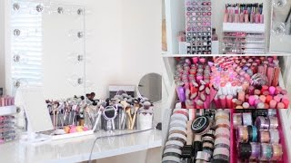 Download MAKEUP COLLECTION & STORAGE 2016 | BeautyyBird Video