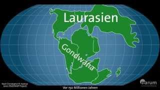 Download Wandernde Kontinente - Plattentektonik im Zeitraffer Video