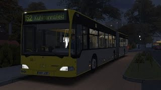Download OMSI 2. Map Ahlheim, Route 152, Mercedes-Benz O530G. Part 1 Video
